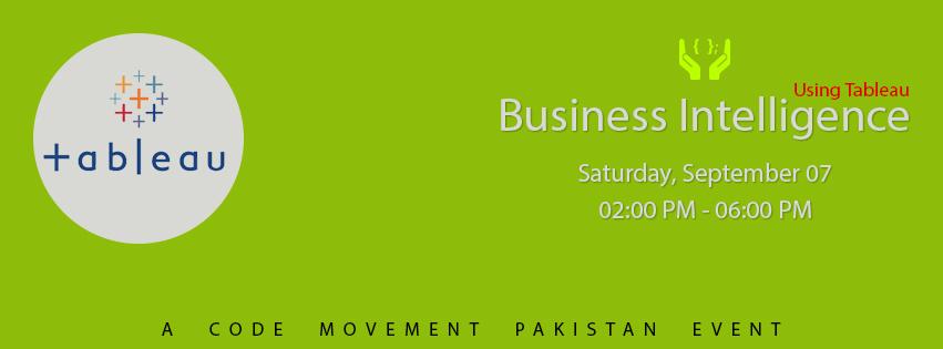 Code Movement Pakistan Business Intelligence Tableau Training