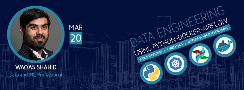data engineering using python, docker, airflow, kubernetes